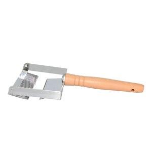 Image 3 - Pszczelarstwo sprzęt pszczeli o strukturze plastra miodu skrobak drewniany uchwyt narzędzie Uncapping widelec narzędzia pszczelarskie