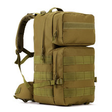 Protector Plus Military Tactical Backpack Student School Bag Molle System Waterproof Rucksacks Explorer Trekking bags Hiking