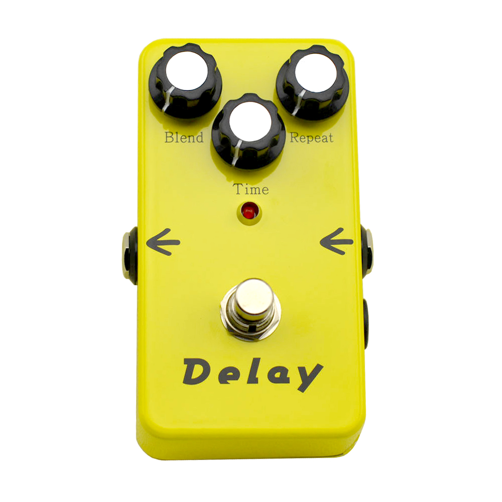 Guitar Effects Pedal Delay Effects pedal stompbox 440ms delay time True Bypass Guitar Parts & AccessoriesFree shipping mooer ensemble queen bass chorus effect pedal mini guitar effects true bypass with free connector and footswitch topper