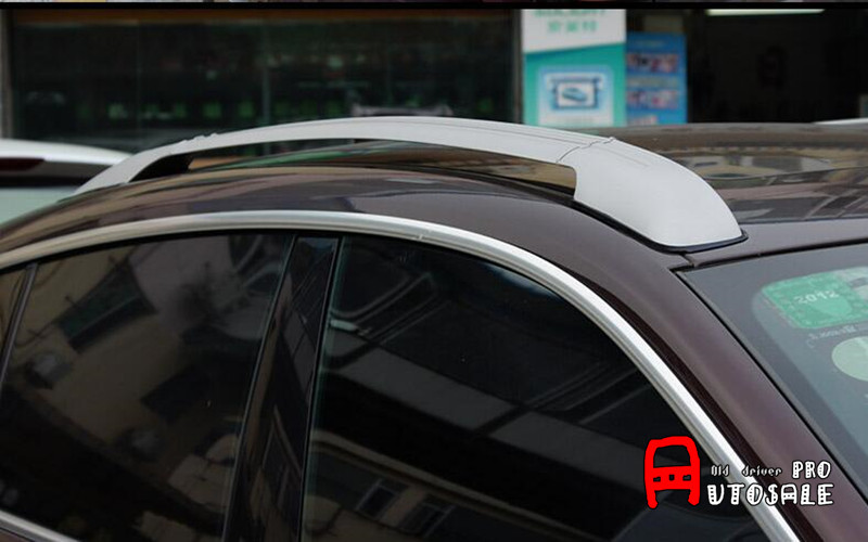 High Quality Aluminum Alloy Top Roof Rack Rails Bars Cover Aluminium Alloy&ABS For BMW X6 2009 2012 2013 2014