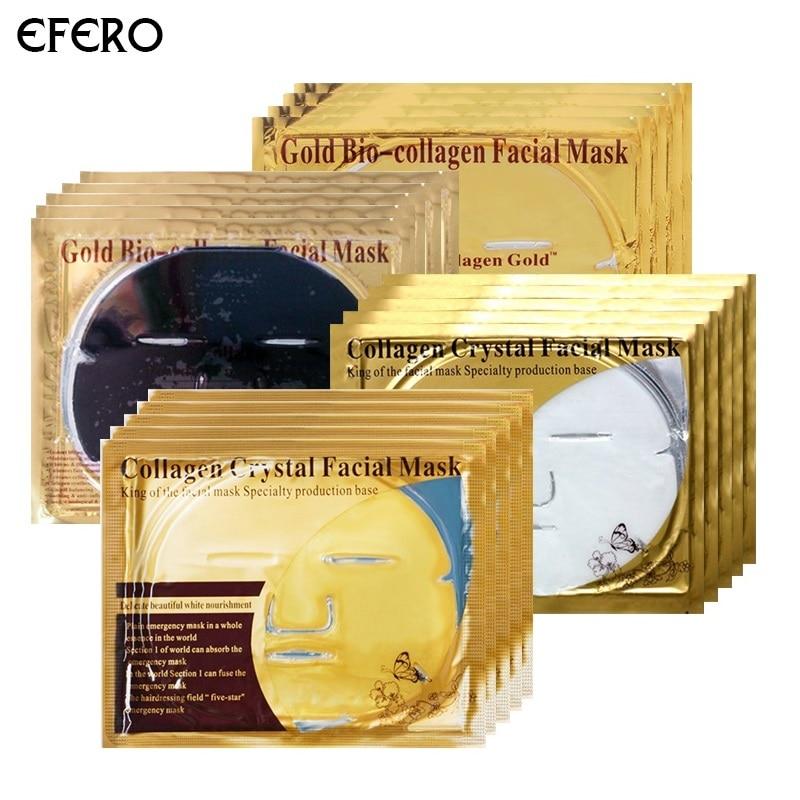 efero Gold Black Mask For The Face Sheet Mask Beauty Skin Ca