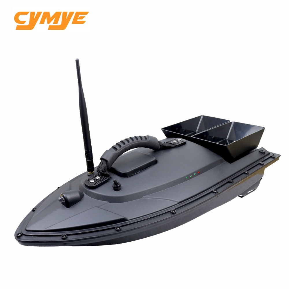 Cymye Fish Finder RC Boat 1.5kg Loading 500m Remote Control Fishing Bait Boat