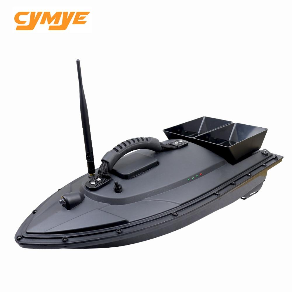 Cymye Poissons Finder RC Bateau 1.5 kg Chargement 500 m De Pêche De La Télécommande Bait Boat