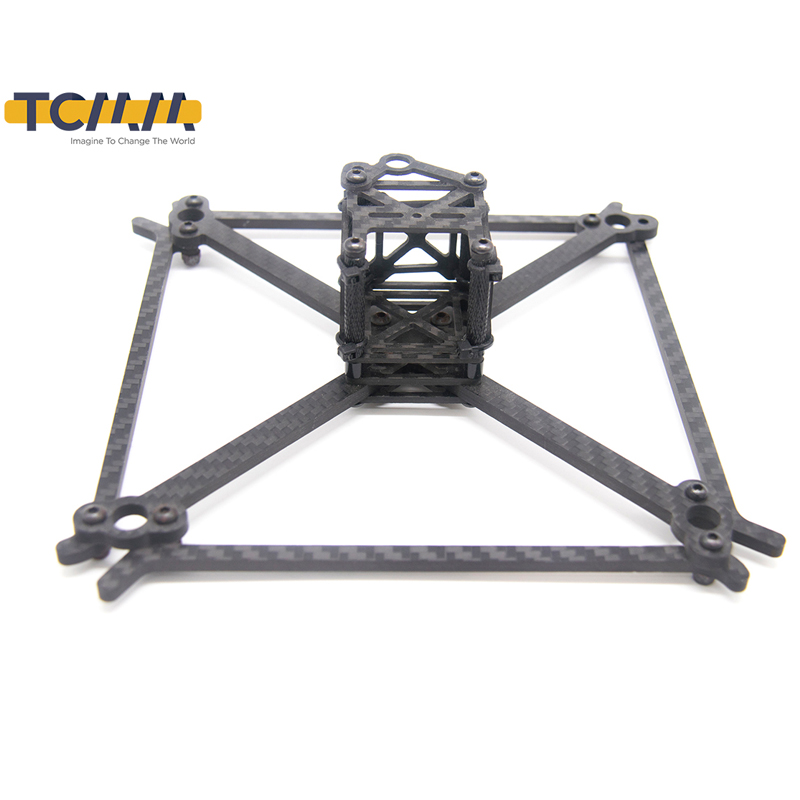 TCMMRC FPV Frame Kit QAV UFX Wheelbase 185mm Thickness 4mm Arm Carbon Fiber for FPV Racing Drone Quadcopter-in Parts & Accessories from Toys & Hobbies