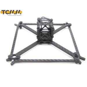 Image 1 - TCMMRC FPV cadre Kit QAV UFX empattement 185mm épaisseur 4mm bras Fiber de carbone pour Drone de course FPV quadrirotor