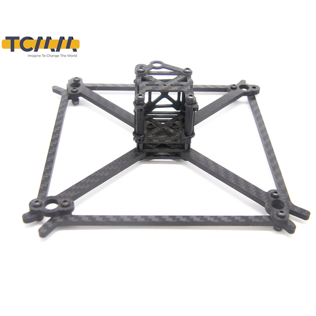 TCMMRC FPV cadre Kit QAV UFX empattement 185mm épaisseur 4mm bras Fiber de carbone pour Drone de course FPV quadrirotor