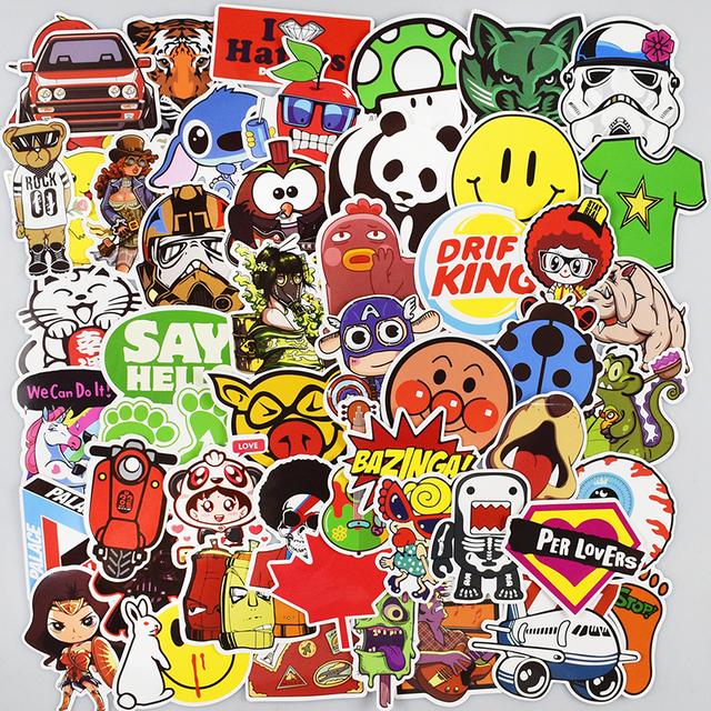 Sticker Funny Decals 500 Pcs