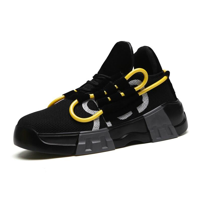 CANGMA Deluxe Casual Shoes hombres zapatillas otoño Gold Bass Glitter cuero Zebra zapatos de ocio masculino Chaussure de talla grande - 3