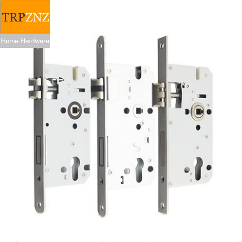 7255 Rounded Lock Body, Length 235, Stainless Steel, Silent, Heavy Spring, Linkage, Right Angle Bearing Lock Body