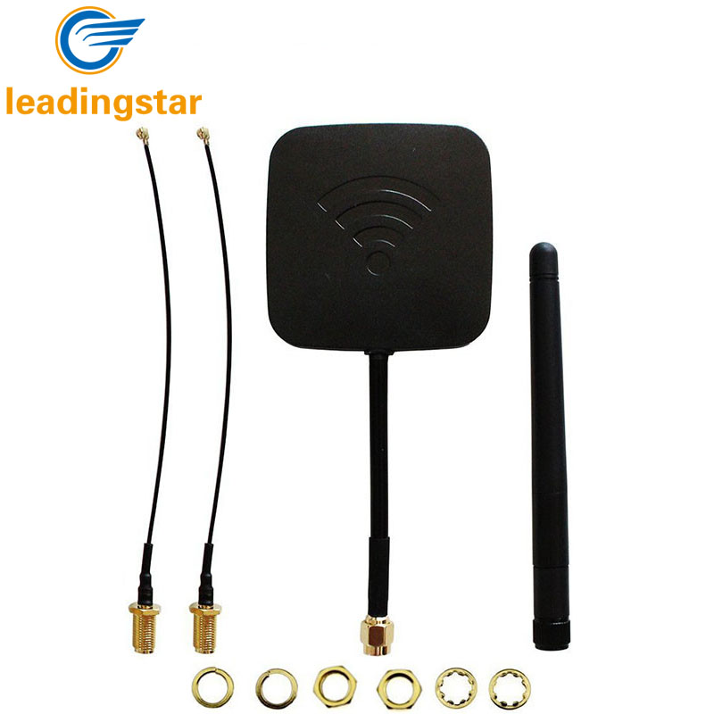 LeadingStar Quadrocopter H501S Enhanced FPV Frame Distance 5.8Ghz 14dBi High Gain Panel Antenna 2.4GHz 3dBi Antenna