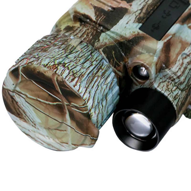 5X42 Digital infrarrojo gafas de visión nocturna Monocular de 200M de alcance Video Dvr Imagers para Dispositivo de cámara de caza (enchufe de EE. UU.)