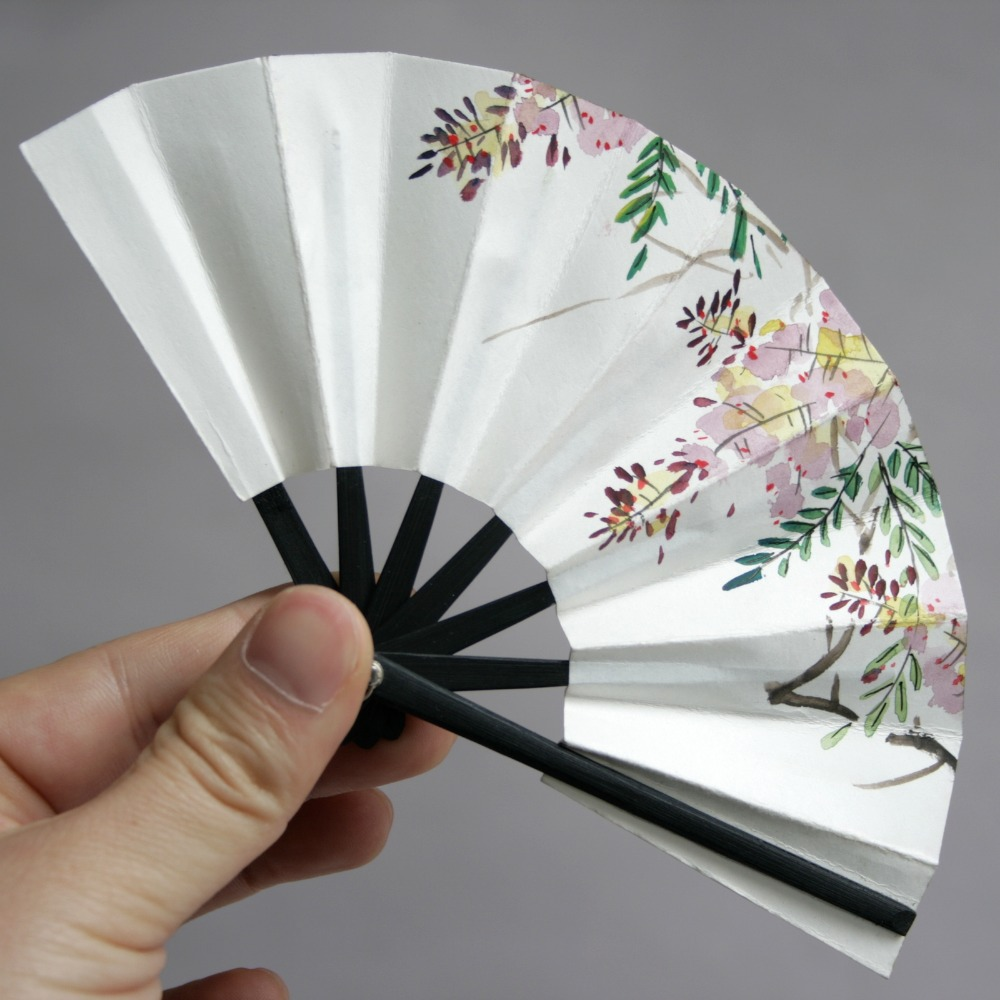 Wamami 8 Flower Paper Fan 10CM Chinese Japanese Style For 1 3 SD17 BJD Dollfie In Doll Houses From Toys Hobbies On Aliexpress