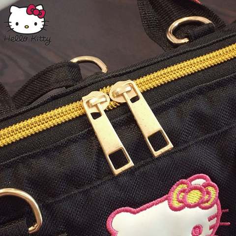 c416b7690 ... Hello Kitty Bag Fashion Shoulder Bag Backpacks Canvas Kawaii Girls  Crossbody Schoolbag Cartoon Small Kids Plush ...