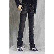 """BJD בובה שחור ג ינס מכנסיים מכנסיים תלבושות בגדי 1/4 זכר 1/3 SD17 70cm24 """"גבוה BJD בובת SD DK DZ MSD AOD DD בובת ללבוש"""