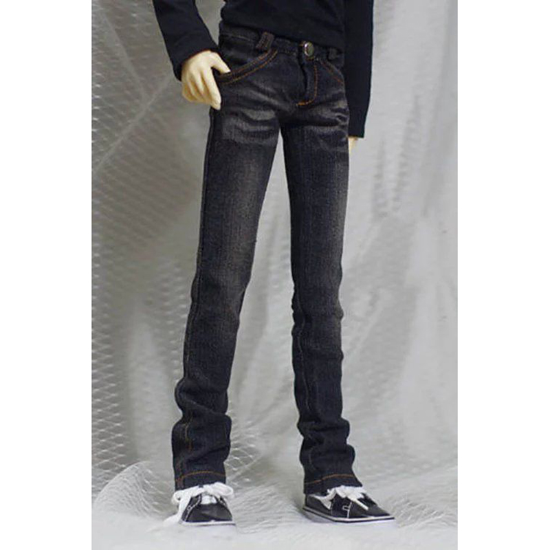 BJD DOLL Black Jeans Pants Trousers Outfits Clothing For 1/4 Male 1/3 SD17 70cm24