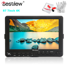 """BESTVIEW S7 4K Camera HDMI HD Monitor Video TFT field 7"""" DSLR LCD Monitor 1920*1200 for Canon 5D 6D Nikon as Feelworld FW760"""