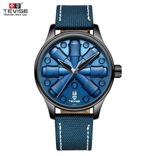 TEVISE T836C Special Automatic Watch Man Blue Luxury Brand M