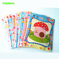 HAPPYXUAN 5pcs/lot 18*23cm DIY Button To Craft Painting Kids Creative Sticky Art Educational Handmade Toys 3 Years