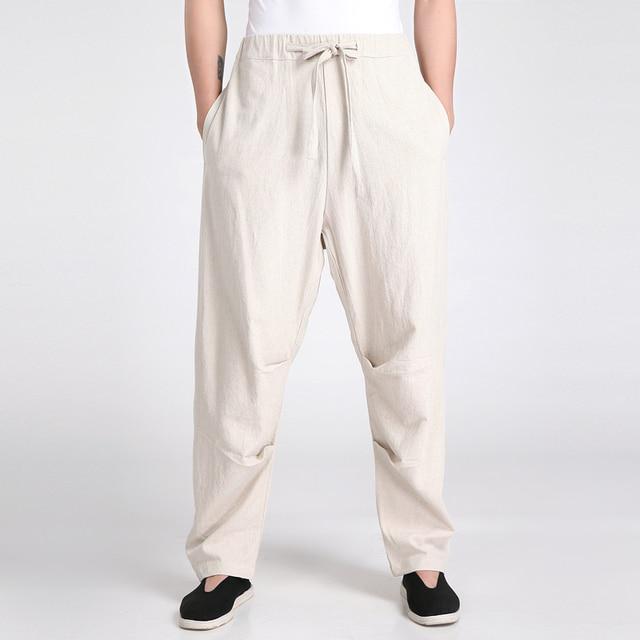 Shanghai Story hakama pants martial arts tai chi pants for men martial arts trousers shaolin pants kung fu pants 4 Color