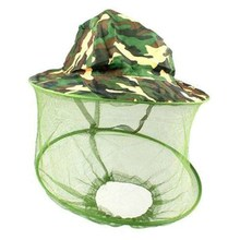 Mosquito Cap Midge Fly Bug Insect Bee Hat With Net Mesh Head Face Protector Fishing Hat For Outdoor Camping Hiking Hunting(China)