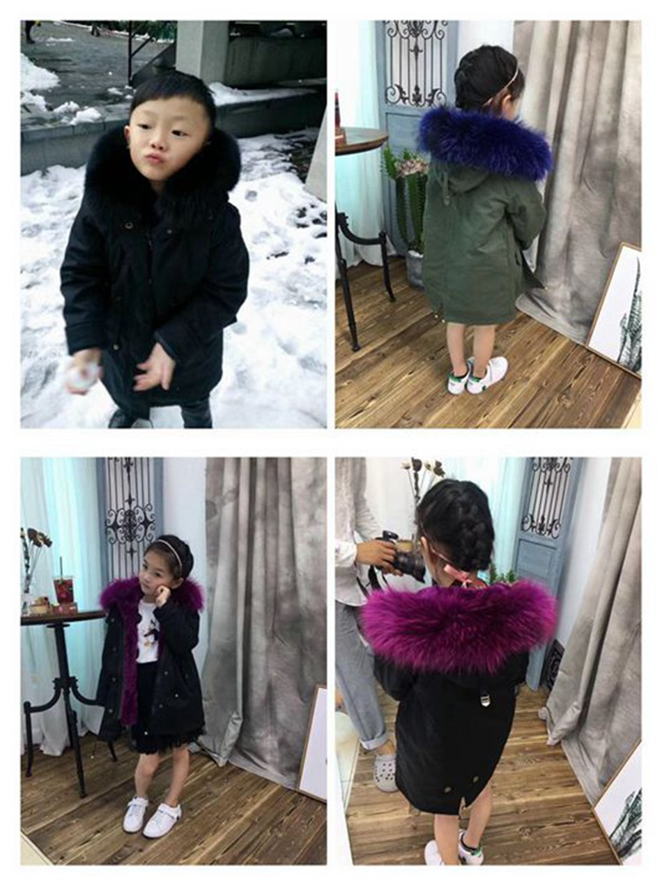 winter jackets real fur children (3)