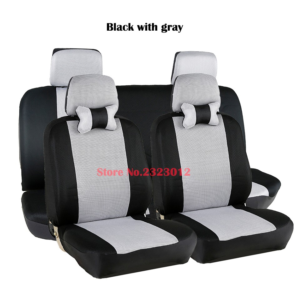Universal car seat cover For Chery QQ fl A1 A3 A5 E3 Tiggo seat covers accessories car-styling black/gray /red