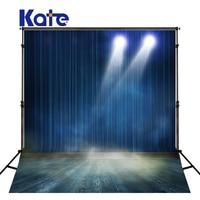 200Cm*150Cm Kate No Wrinkles Background Photography Backdrops Blue Stage Lighting Photography Back Photographic Studio J01087