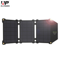 ALLPOWERS 21W Solar Panel Solar Cells Dual USB Solar Charger Batteries Phone Charging For Sony IPhone