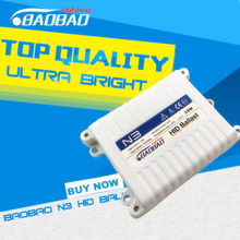 BAOBAO Top quality N3 35W Car HID headlight Ballast, super bright Standard full digital ballast car-styling h1 h4 h7 h11