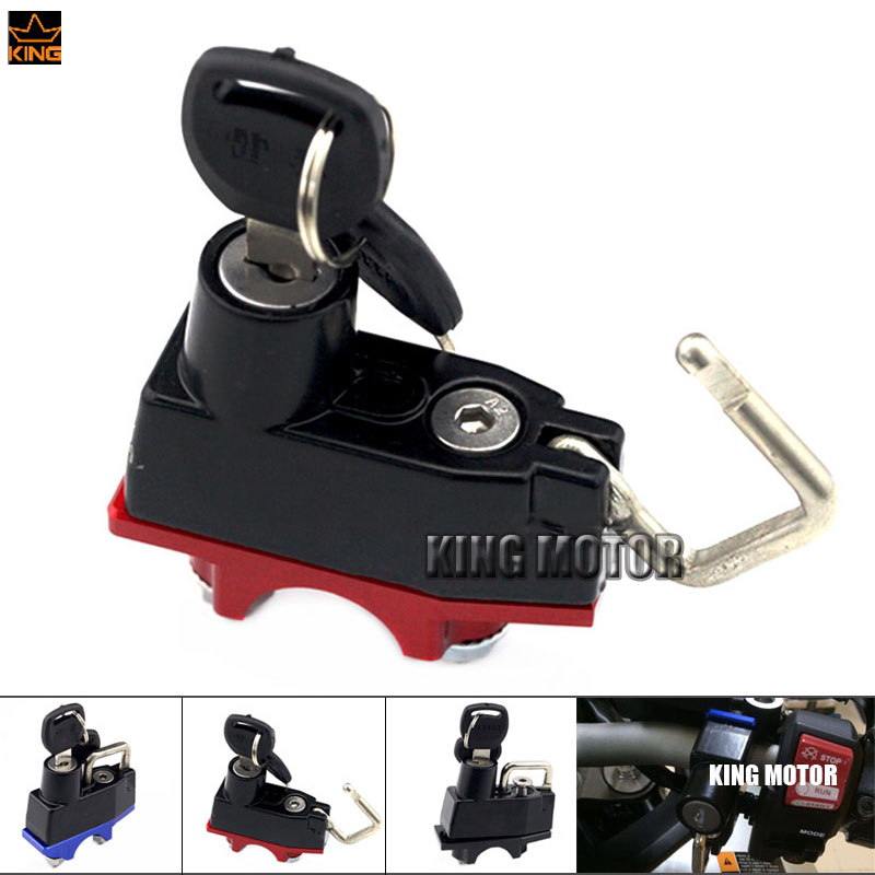 Motorcycle Accessories Helmet Lock Brake Master Cylinder Handlebar Clamp For YAMAHA YZF R3 R25 YZF-R25 YZF-R3 MT25 MT-03 MT-07 1000m motorcycle helmet intercom bt s2 waterproof for wired wireless helmet