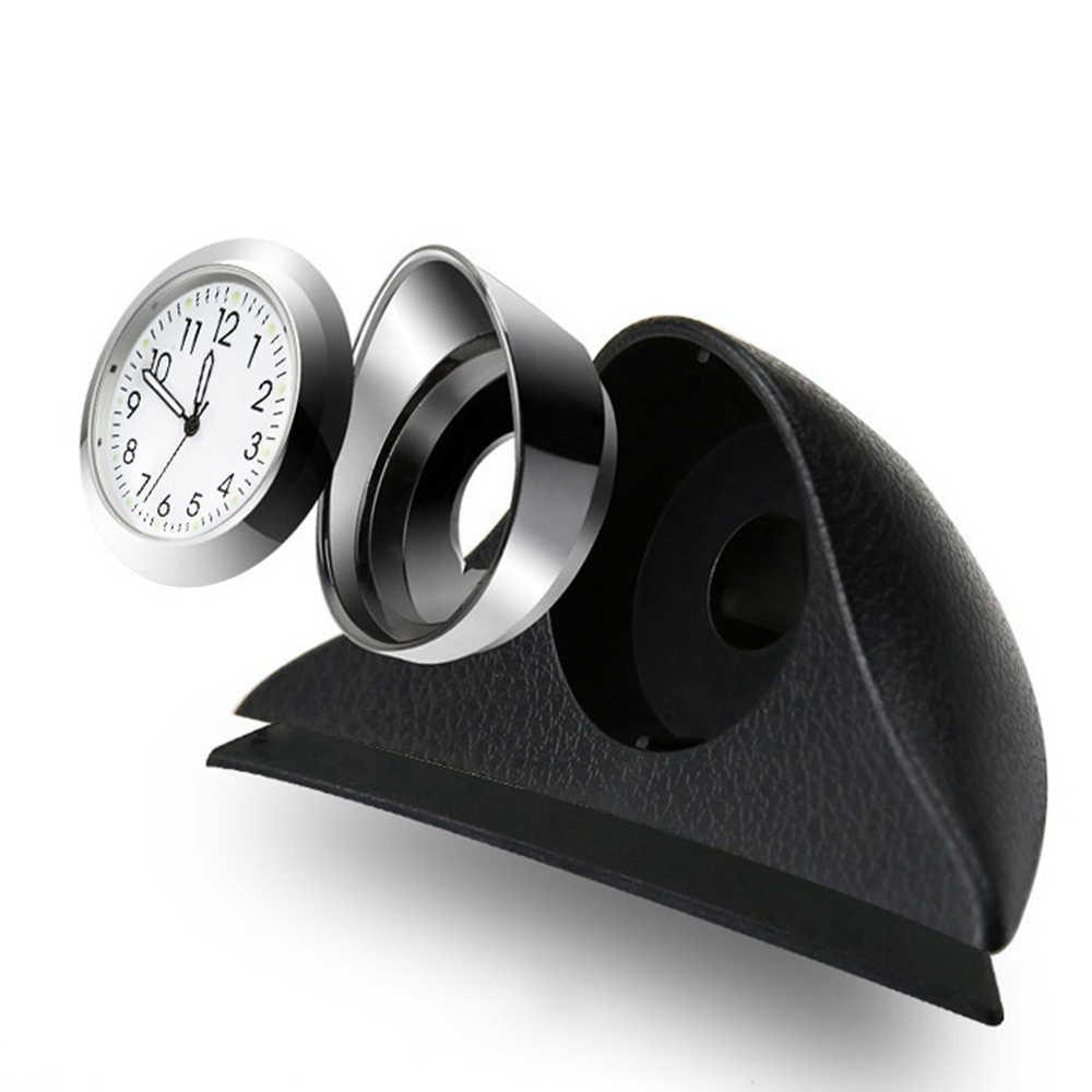 Бамбуковый древесный уголь автомобильный орнамент автомобильное украшение приборной панели часы Автомобильный интерьер механические часы, украшения часы в авто аксессуары подарок
