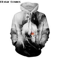 PLstar Cosmos Anime Tokyo Ghoul Harajuku Style Hoodies Sweatshirt Men's/women Long Sleeve 3d Print