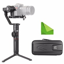 Zhiyun Crane-2 3-Axis Handheld Gimbal Stabilizer with Follow Focus 7lb Payload OLED Display Long Runtime For Camera zhiyun korea official servo follow focus lite cmf03 for handheld gimbal weebill lab crane 3 stabilizer