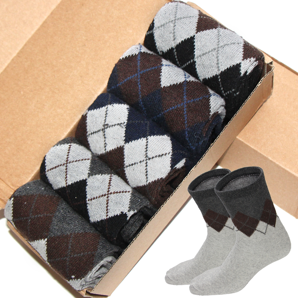 Hot Thick Keep Warm Rabbit Wool Men's Socks Autumn Winter Classic Business Casua