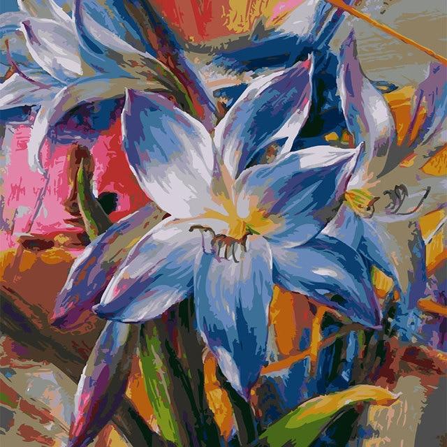 Aliexpress Beli Colorful Bunga Keren Tone Biru Merah Muda Kehijauan