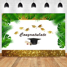 Get more info on the  NeoBack 2019 Graduation Backdrops Custom Gold Shniy Summer Graduation party Photography Backdrops Studio Shoots