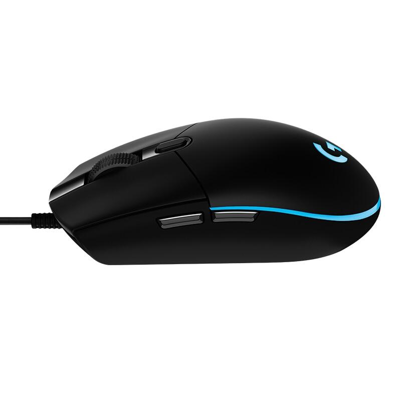 Оригинальная игровая проводная мышь Logitech G102, Оптическая Проводная игровая мышь, поддержка рабочего стола/ноутбука, Поддержка windows 10/8/7