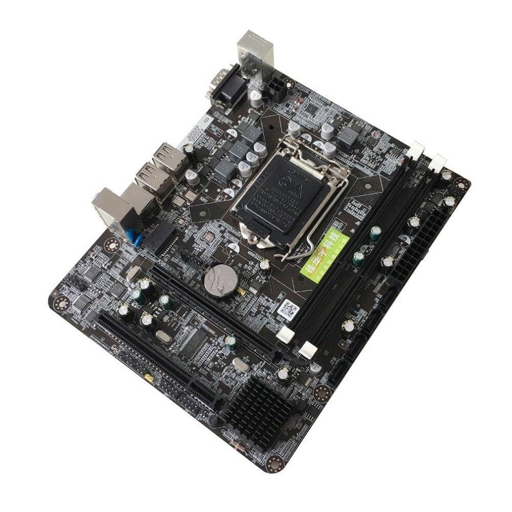 P55-A-1156 motherboard DDR3 LGA 1156 USB3.0 215x170 boards 8 gb P55 6 Kanal Desktop mother Freies verschiffen