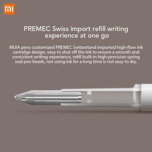 Ручка Xiaomi Mijia с 0,5 мм швейцарским пополнением 143 мм роликовый шарик Mi Xiomi Sign Signing шариковая