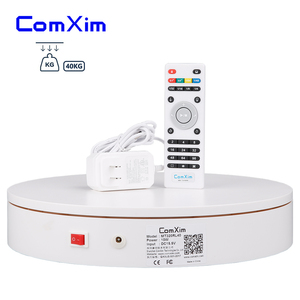 Image 2 - ComXim 32cm 12.6in Remote Control Rotating Electric Photography Turntable,Display Stand,