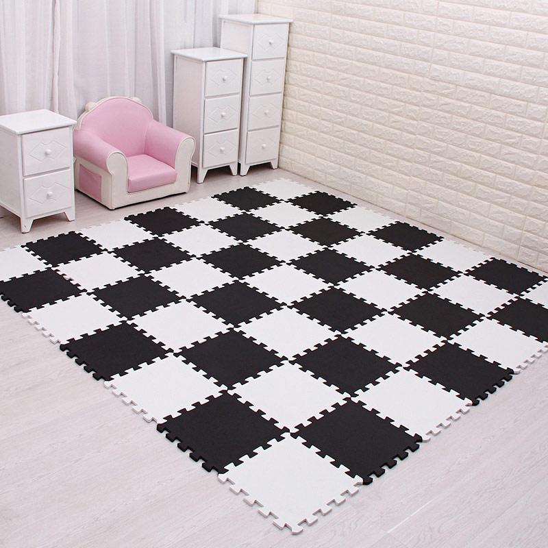 Home Soft Floor Tiles Anti Slide Noise Protective Pad Split Suqare Eva  Sheet For Bedroom Puzzle