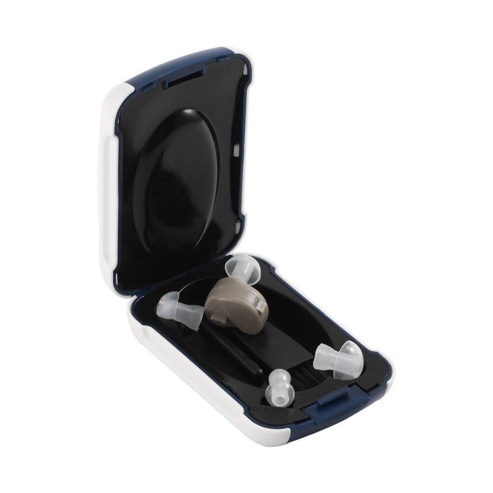 Nouveau Petit In-Ear Amplificateur Sain de Voix Réglable Tone Mini Audience Oreille Aide Beauté Accessoires