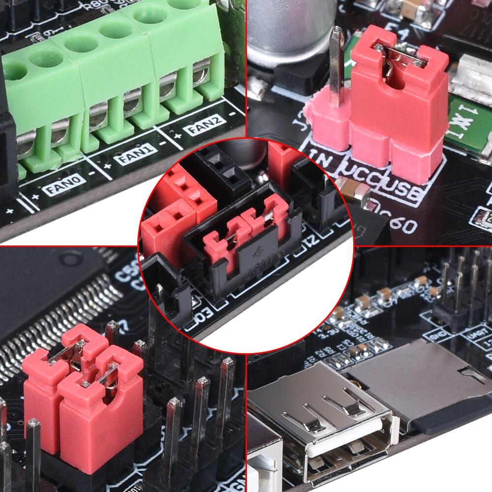 BIGTREETECH SKR PRO V1.1 carte de commande 32 bits 32bit pièces d'imprimante 3D vs MKS GEN L rampes 1.4 support A4988 TMC2208 TMC2130 pilote - 3