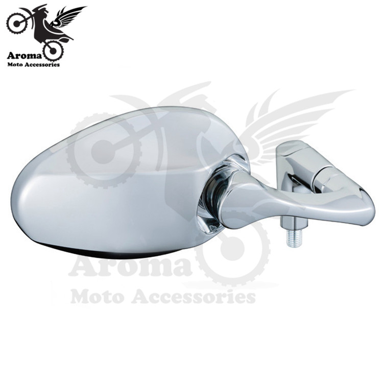chrome motorcycle side mirrors motorbike rearview mirrors 10mm universal motocross ATV Off-road  moto dirt pit bike scooter part 320mm motorcycle fork rear nitrogen shock absorber for bws100 bws125 rd250 350 pit atv scooter motorbike colorful