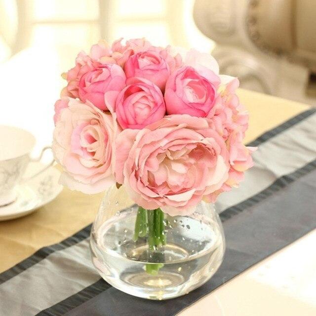 Lotus Hydrangea Silk Flower Wedding Party Festival Decoration Floral ...