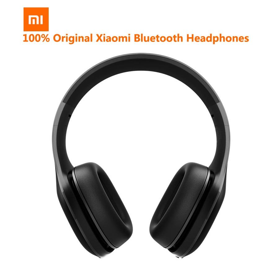 Original Xiaomi Wireless Headphones Bluetooth Headset Mi APT X Music Player Volume Control Noise Cancelling Aptx