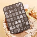 Hot Sale 14CM*10CM Flower Design Nail Art Templates Image Stamp Plates Polish Stamping Manicure Image