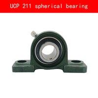 UCP 211 Vertical Spherical Bearing For Diameter 55MM Shaft