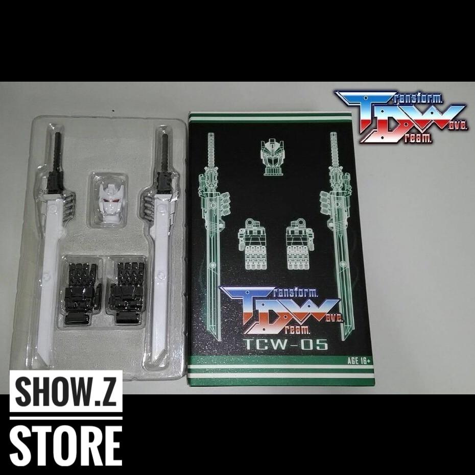 [Show.Z Store] Transformation Dream Wave TDW TCW-05 Sixshot Upgrade Kit Transformation Action Figure [show z store] g creation gdw 03 fuuma sixshot idw transformation action figure