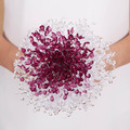 New Design Crystal Wedding Bouquet Bride Bouquet Bridal Wedding Bouquet Bridesmaid Artificial flower Hand Made beaded Brooch